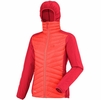 Millet Womens Hybrid Langtang Hoodie Hot Coral/ Hibiscus (Close Out)