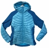 Millet Womens Hybrid Shuksan Hoodie Jacket Blue Bird/ Deep Horizon