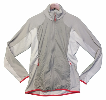 Millet Womens Hybrid Tech Jacket Metal Grey/ Storm Grey