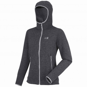 Millet Womens Iceland Hoodie Deep Heather