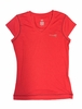 Millet Womens Kailash T Shirt Short Sleeve Red/ Rouge