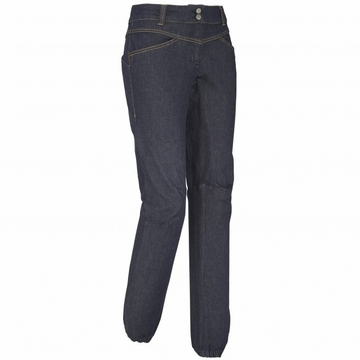 Millet Womens Karambony Denim Pant Dark Denim