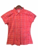 Millet Womens Kings Peak Wool Shirt Hot Coral