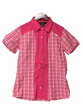 Millet Womens Ladakh Short Sleeve Shirt Azalea