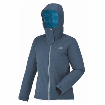 Millet Womens Lofoten Down Blend Jacket Heather Blue/ Deep Horizon
