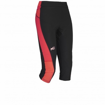 Millet Womens LTK Intense 3/4 Tight Noir/ Hibiscus