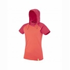 Millet Womens Mada Roc Hoodie Hot Coral Hibiscus