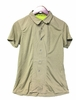 Millet Womens Parvati Stretch Short Sleeve Shirt Light Khaki