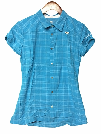 Millet Womens Pocket Haras T Shirt Horizon Blue