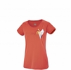 Millet Womens Power Summit T Shirt Hot Coral