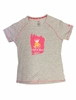 Millet Womens Queen of Rocks T Shirt Short Sleeve Heather Grey