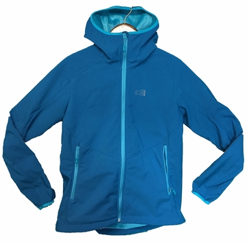 Millet Womens Shuksan High Loft Hoodie Deep Horizon