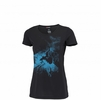 Millet Womens Storm T Shirt Short Sleeve Black/ Noir