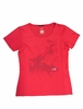 Millet Womens Storm T Shirt Short Sleeve Red/ Roug