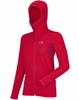 Millet Womens Tech Light Hoodie Rouge/ Deep Red