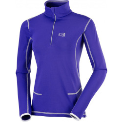Millet Womens Tech Stretch Top Purple Blue