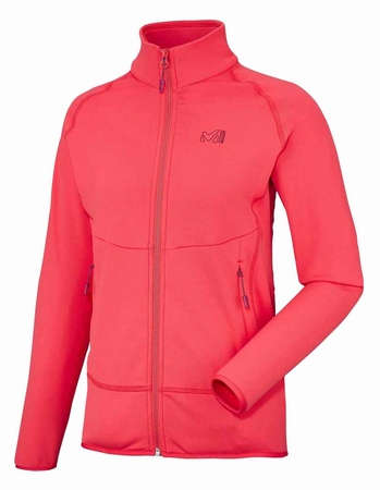 Millet Womens Techno Stretch Jacket Hibiscus