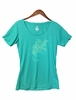 Millet Womens Tops T Shirt Short Sleeve Dynasty Green