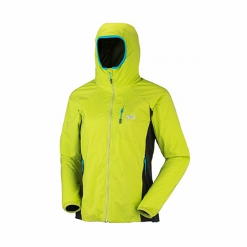 Millet Womens Touring Alpha Hoodie Acid Green