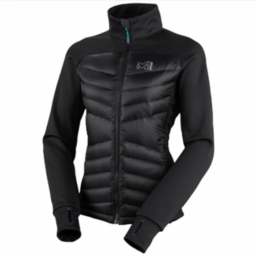 Millet Womens Touring Hybrid Down Jacket Black/ Noir