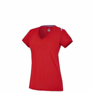 Millet Womens Trilogy Dry Grid T Shirt Short Sleeve Red