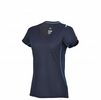 Millet Womens Trilogy Grid T Shirt Saphir