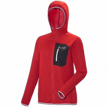 Millet Womens Trilogy Light Hoodie Red/ Rouge