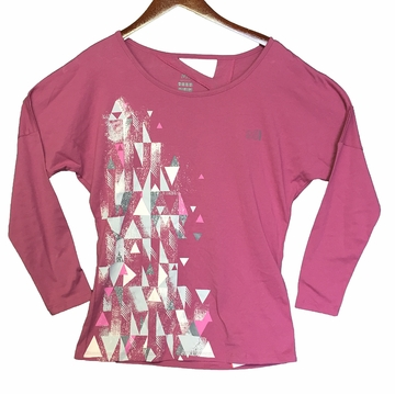 Millet Womens Yalla Long Sleeve T Shirt Bougainville
