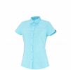 Millet Womens Castle Peak Short Sleave Shirt Curacao
