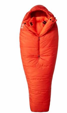 Mountain Hardwear HyperLamina Torch 0 Sleeping Bag Flame Long