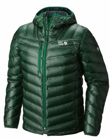 Mountain Hardwear Mens StretchDown RS Hooded Jacket Forest
