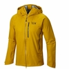 Mountain Hardwear Mens Alchemy Hooded Jacket Inca Gold