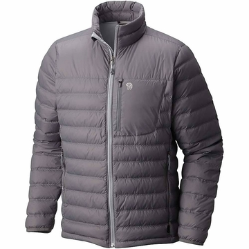 Mountain Hardwear Mens Dynotherm Down Jacket Manta Grey