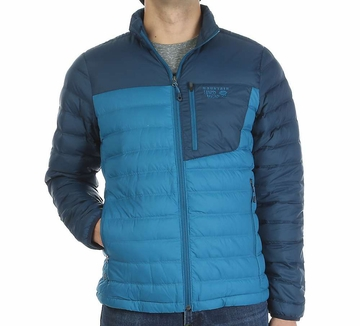Mountain Hardwear Mens Dynotherm Down Jacket Phoenix Blue/ Hardwear Navy
