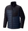 Mountain Hardwear Mens Dynotherm Down Jacket Zinc/ Black