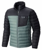 Mountain Hardwear Mens Dynotherm Jacket Thunderhead Grey/ Black