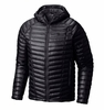 Mountain Hardwear Mens Ghost Whisperer Hooded Jacket Black