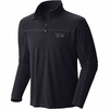 Mountain Hardwear Mens Microchill 2.0 Zip T Black