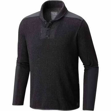 Mountain Hardwear Mens Mountain Tactical Pullover Sweater Black