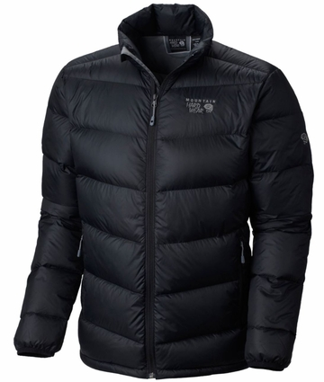 Mountain Hardwear Mens Ratio Down Jacket Black  (close out)