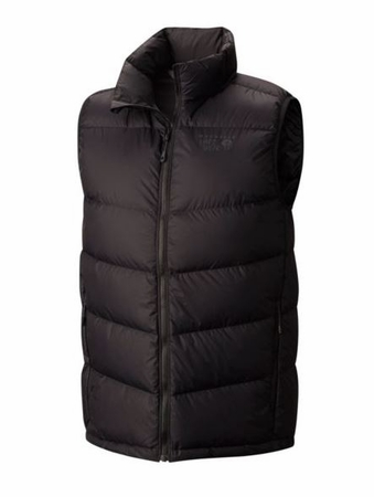 Mountain Hardwear Mens Ratio Down Vest Black