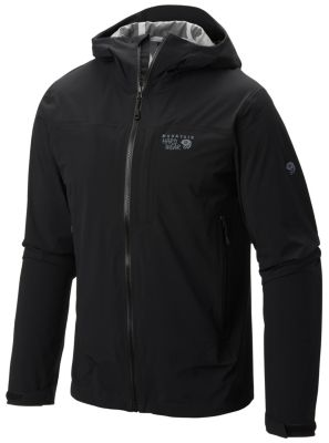 Mountain Hardwear Mens Stretch Ozonic Jacket Black