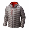 Mountain Hardwear Mens Stretchdown RS Hooded Jacket Manta Grey