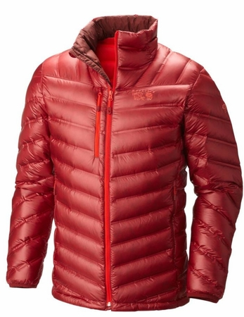 Mountain Hardwear Mens StretchDown RS Jacket Smolder Red