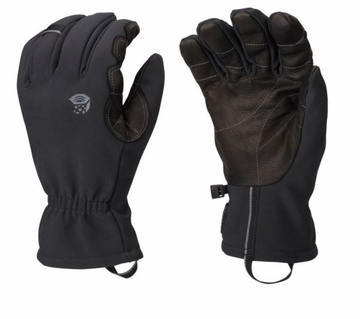 Mountain Hardwear Mens Torsion Insulated Glove Black