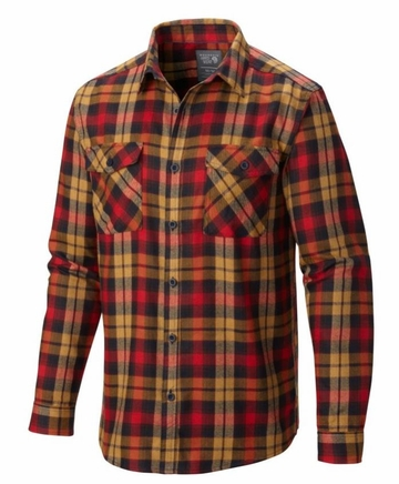 Mountain Hardwear Mens Trekkin Flannel Long Sleeve Shirt