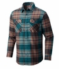 Mountain Hardwear Mens Trekkin Flannel Long Sleeve Shirt Sea Level