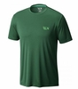 Mountain Hardwear Mens Wicked Short Sleeve T Fernwood