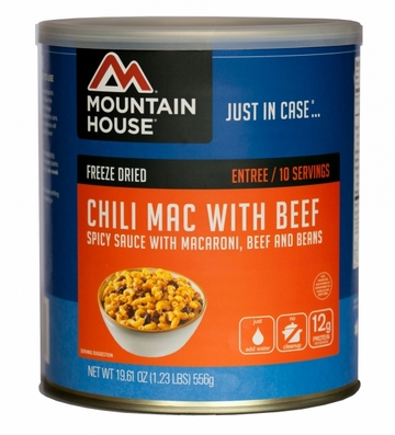 Mountain House Chili Mac w/ Beef #10 Can
