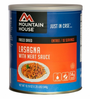 Mountain House Lasagna w/ Meat Sauce #10 Can